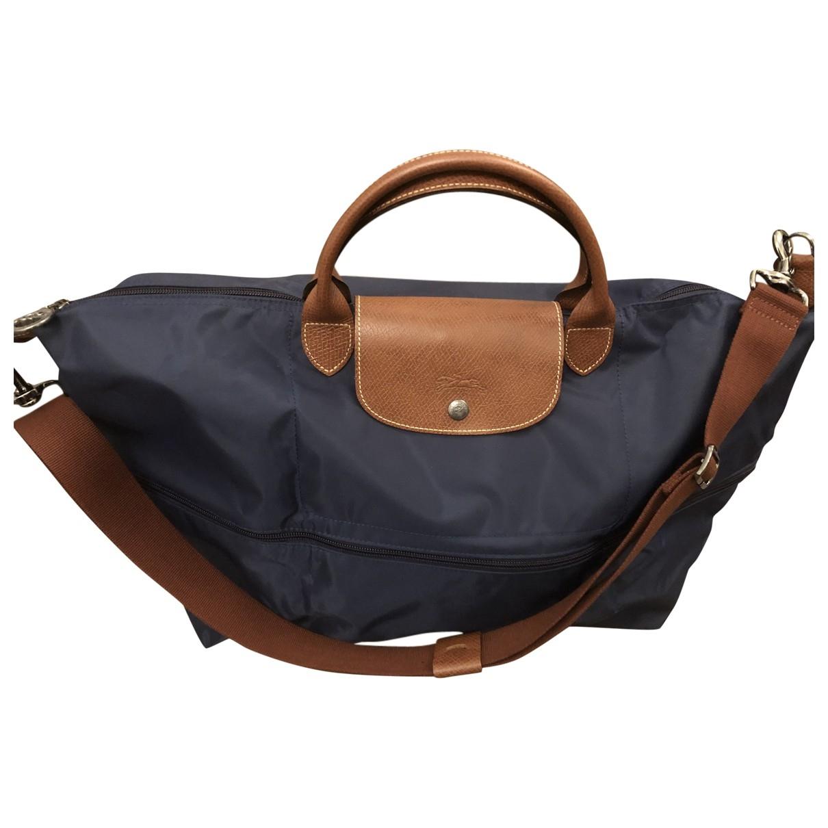 Longchamp - Sac de voyage Pliage  pour femme - marine