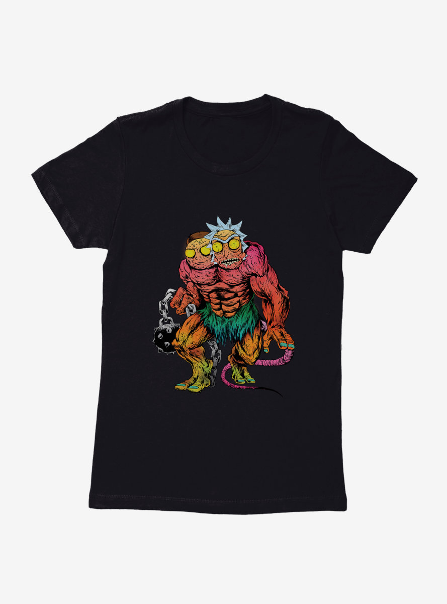 Rick And Morty Monster Womens T-Shirt