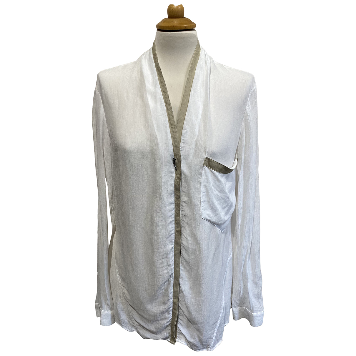 Camisa de Seda Helmut Lang