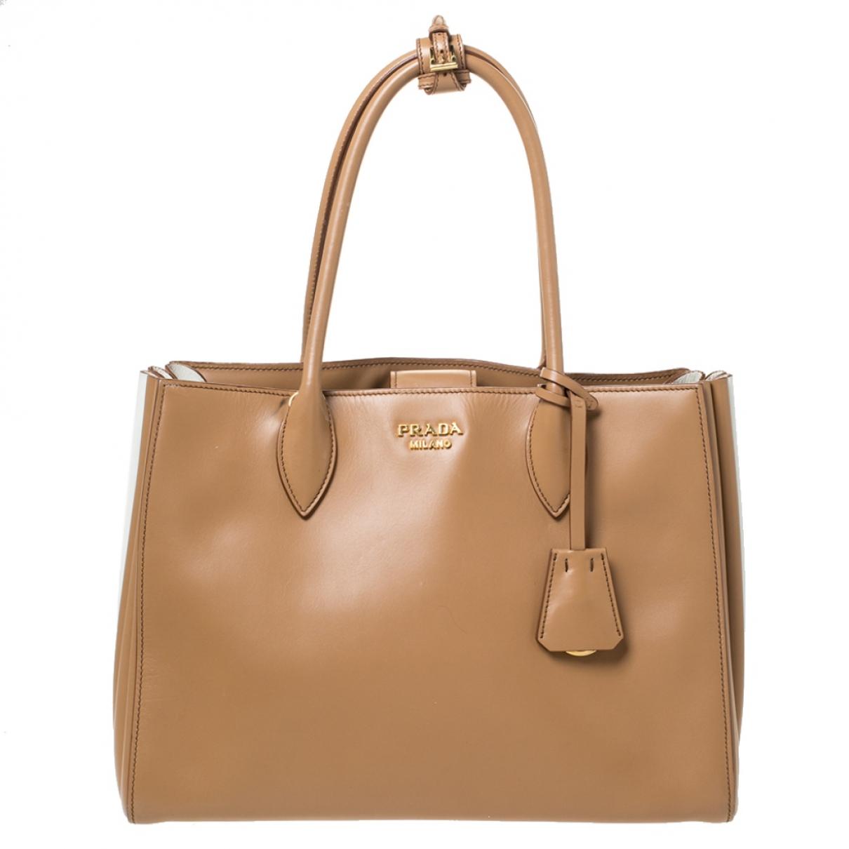 Prada Bibliothèque Leather handbag for Women N