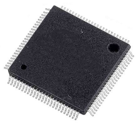 STMicroelectronics STM32G473VET6, 32bit ARM Cortex M4 Microcontroller, STM32, 170MHz, 512 kB Flash, 100-Pin LQFP (90)