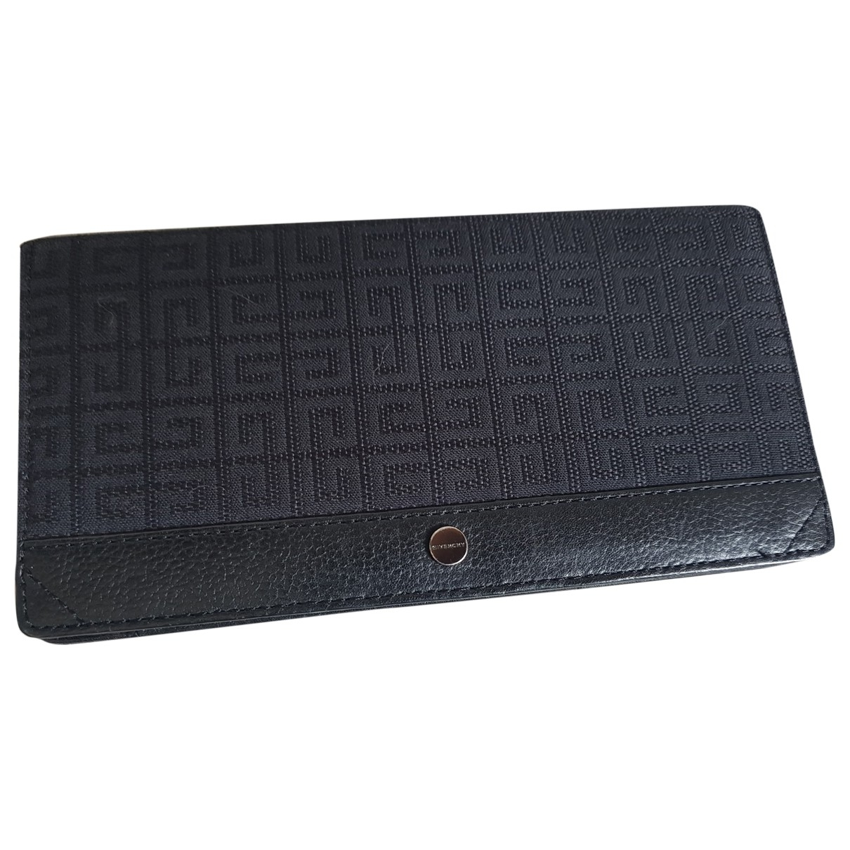 Givenchy \N Black Cloth wallet for Women \N