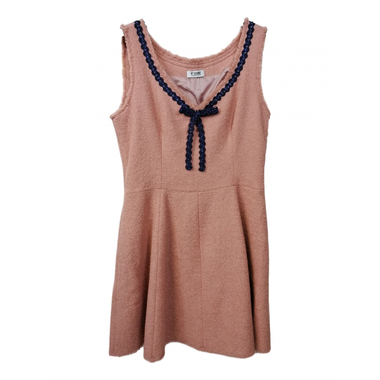 Moschino Cheap And Chic - Robe   pour femme en laine - rose