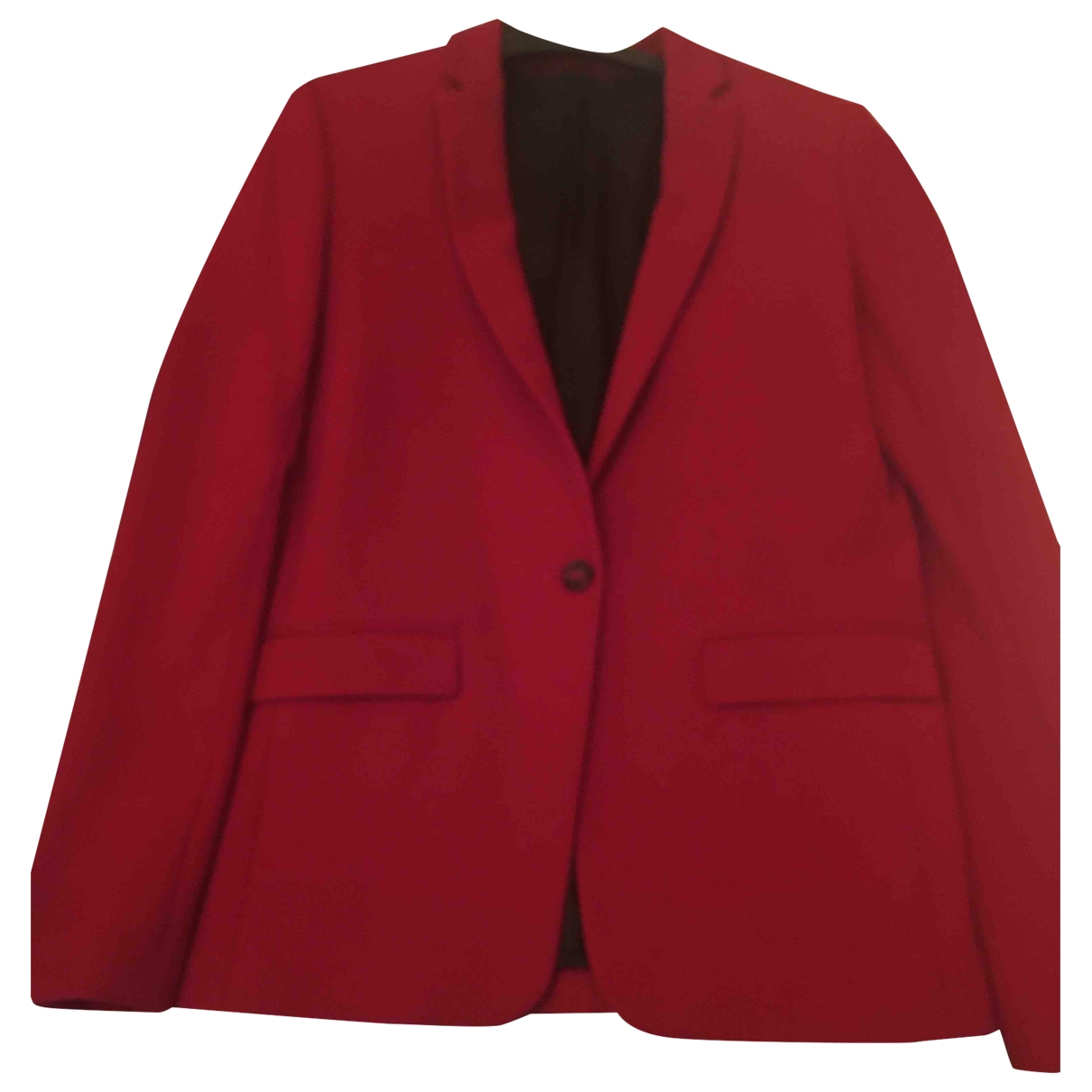 The Kooples \N Red Cotton jacket for Women 36 FR