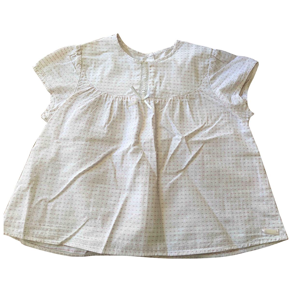 Baby Dior \N Oberteile in  Weiss Baumwolle