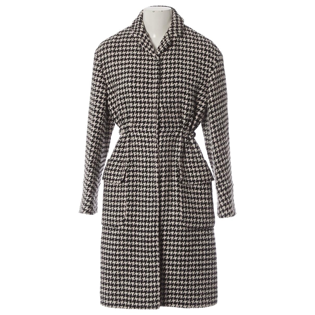 Giambattista Valli \N Black Wool coat for Women XS International