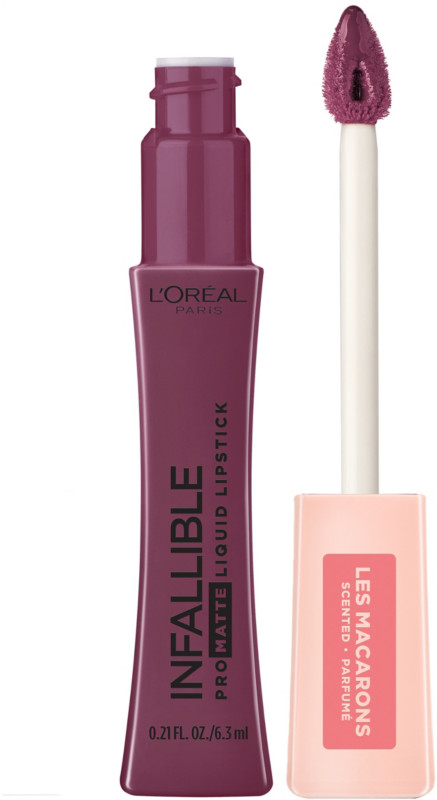 Infallible Pro-Matte Liquid Lipstick Les Macarons - Blackcurrant Crush