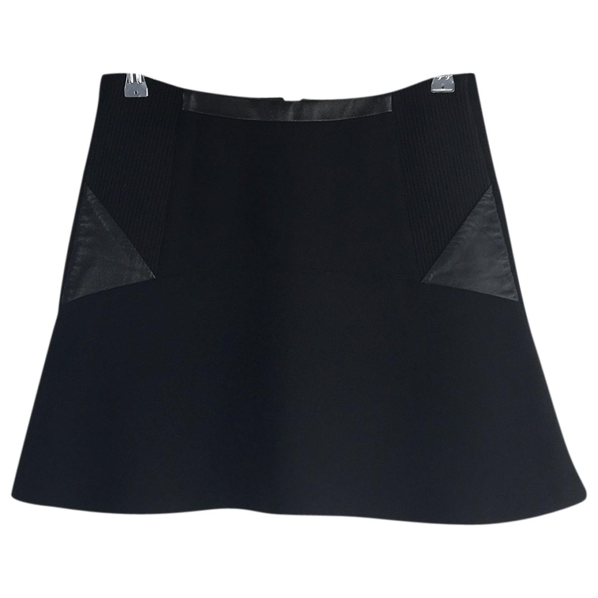 Sandro \N Black skirt for Women 2 0-5