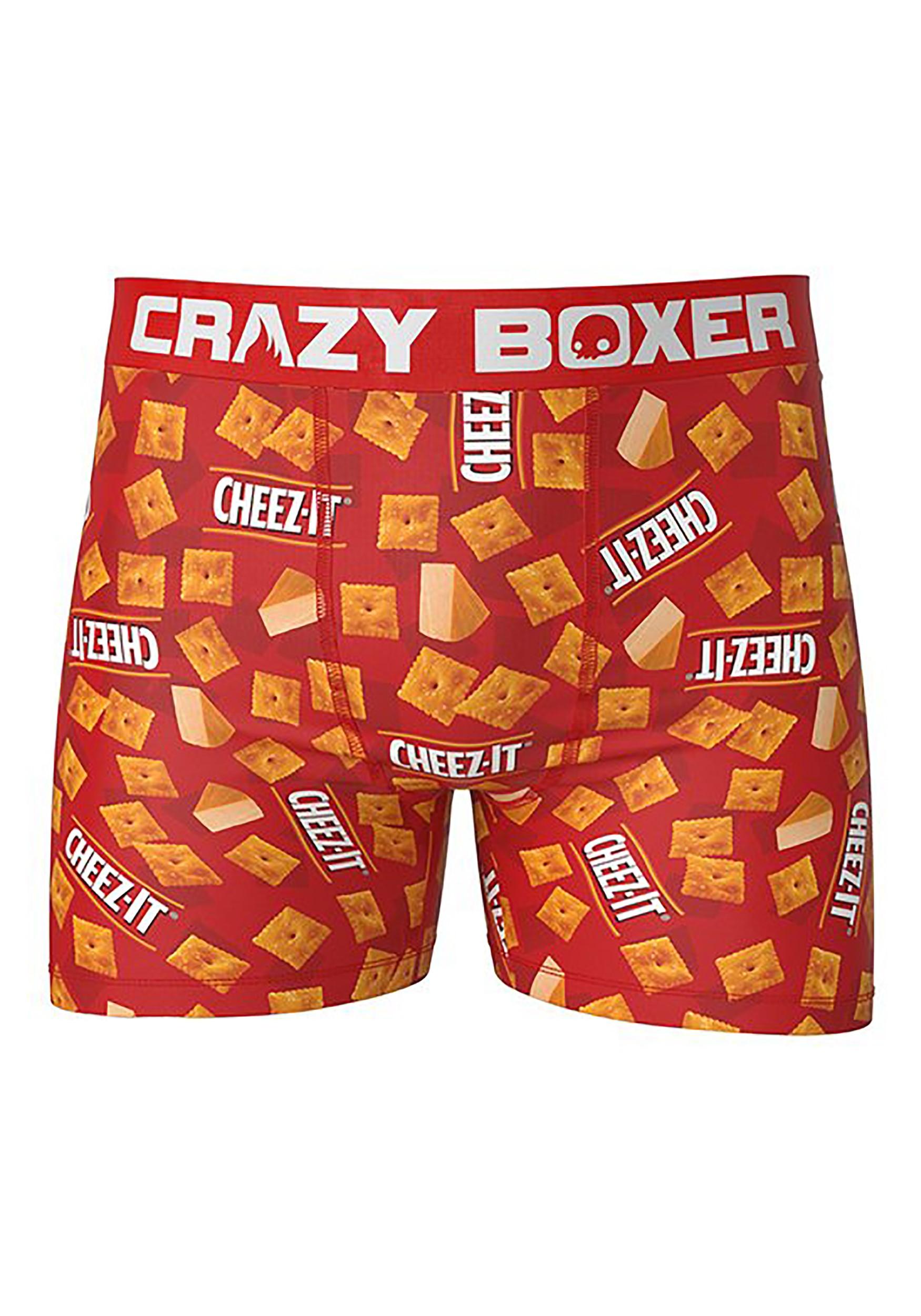 Crazy Boxers Cheez-It Boxer Briefs for Men