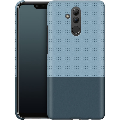 Huawei Mate 20 Lite Smartphone Huelle - Dot Grid Blue von caseable Designs