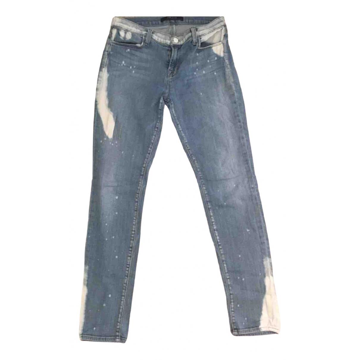 J Brand - Jean   pour femme en denim - bleu