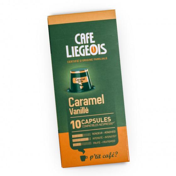 """Kaffeekapseln Cafe Liegeois """"Caramel"""", 52 g, 10 Stk."""