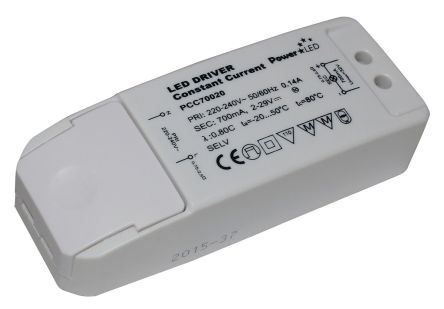 PowerLED AC-DC Constant Current LED Driver Module 17W 2 → 29V