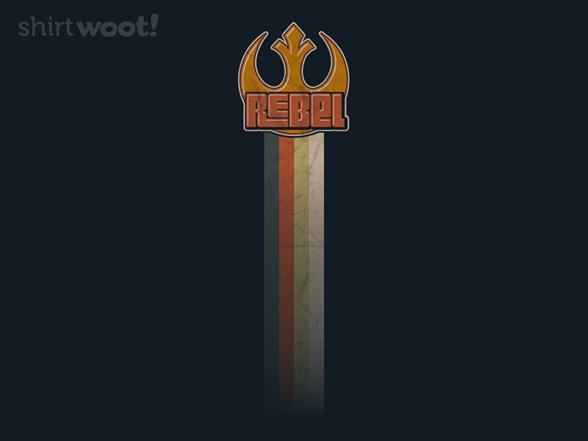 Retro Fett & Rebels T Shirt