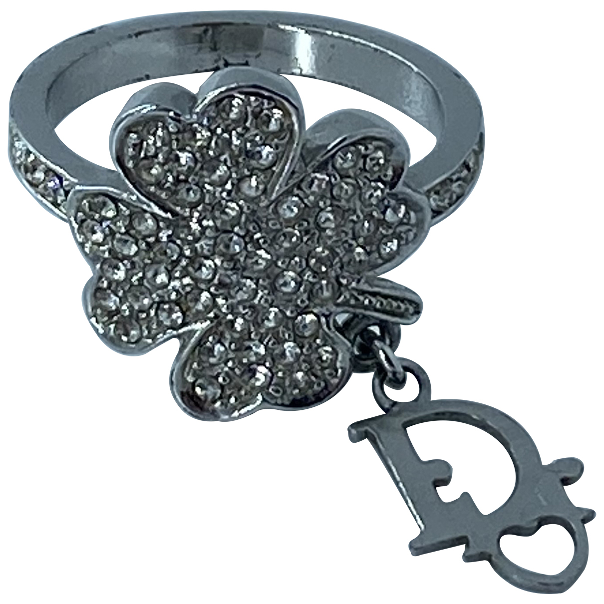 Dior \N Ring in  Silber Metall
