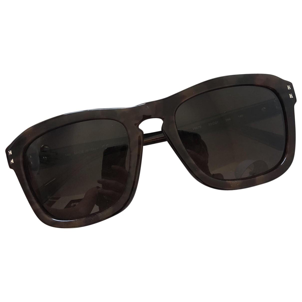 Valentino Garavani \N Brown Sunglasses for Women \N