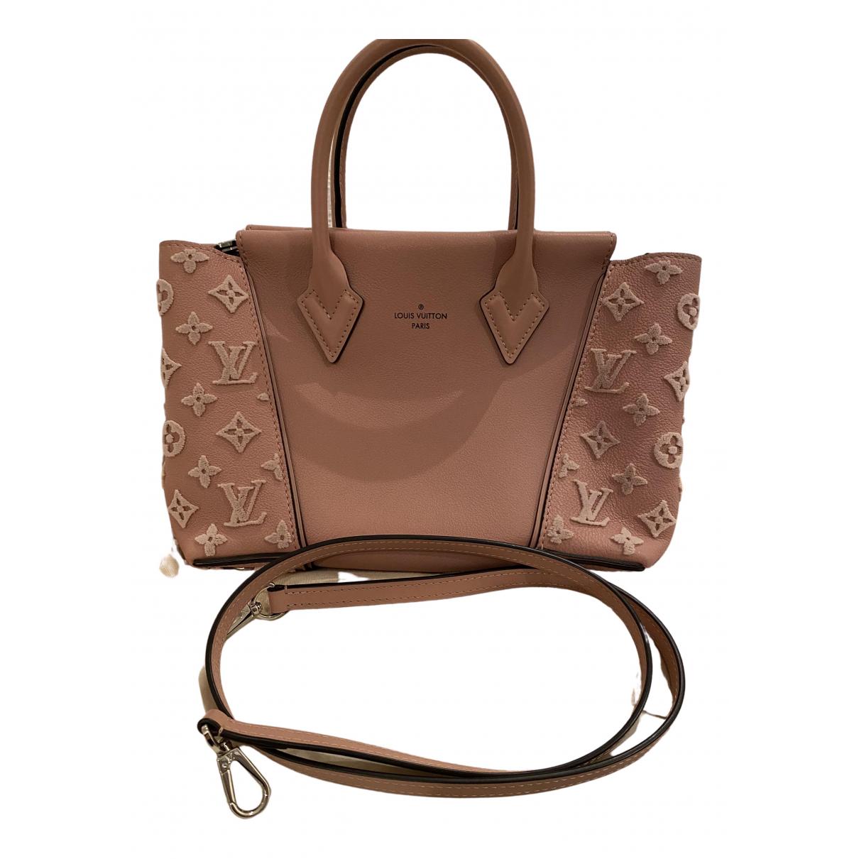 Louis Vuitton - Sac a main   pour femme en cuir - rose