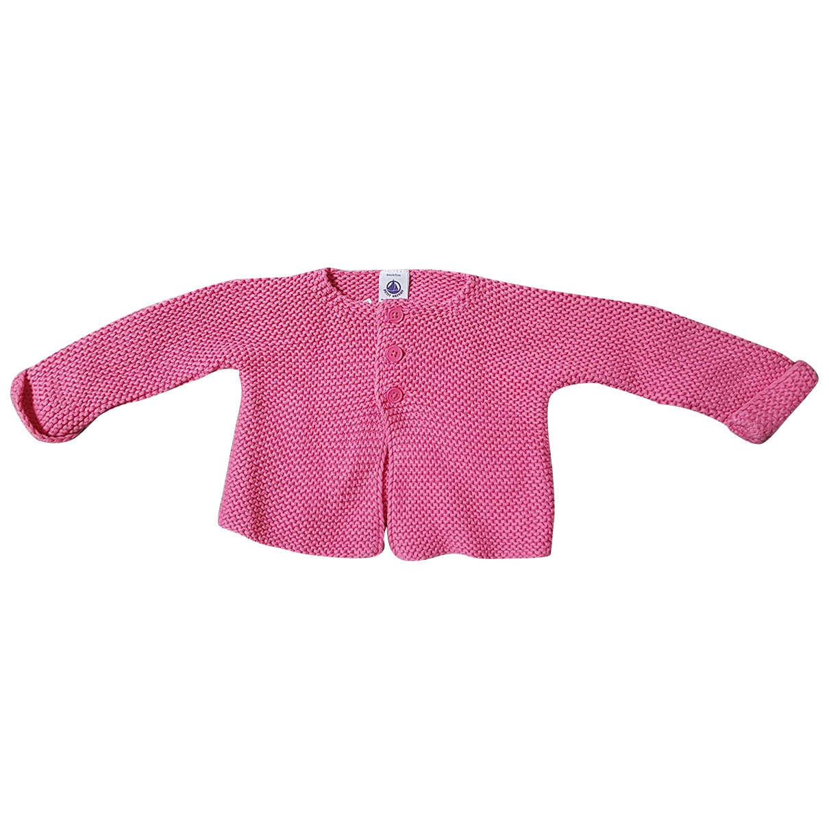 Petit Bateau \N Pink Cotton Knitwear for Kids 6 months - up to 67cm FR