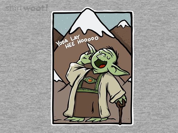 Yoda Lay Hee Hooooo T Shirt