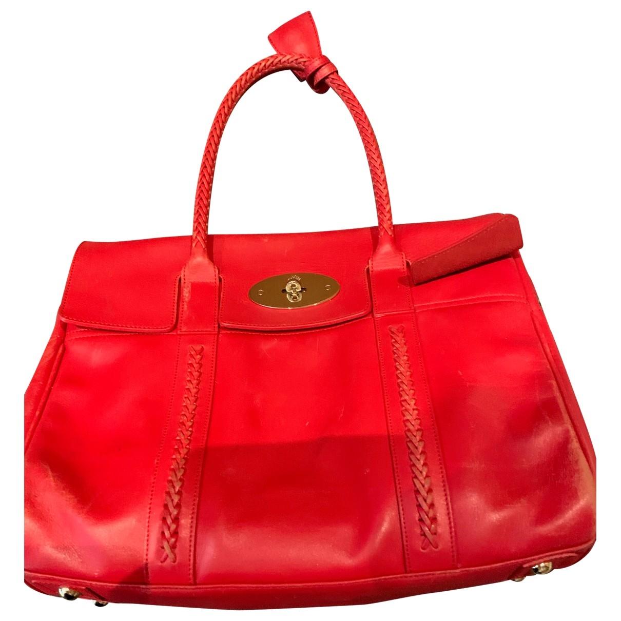 Mulberry Alexa Red Leather handbag for Women \N