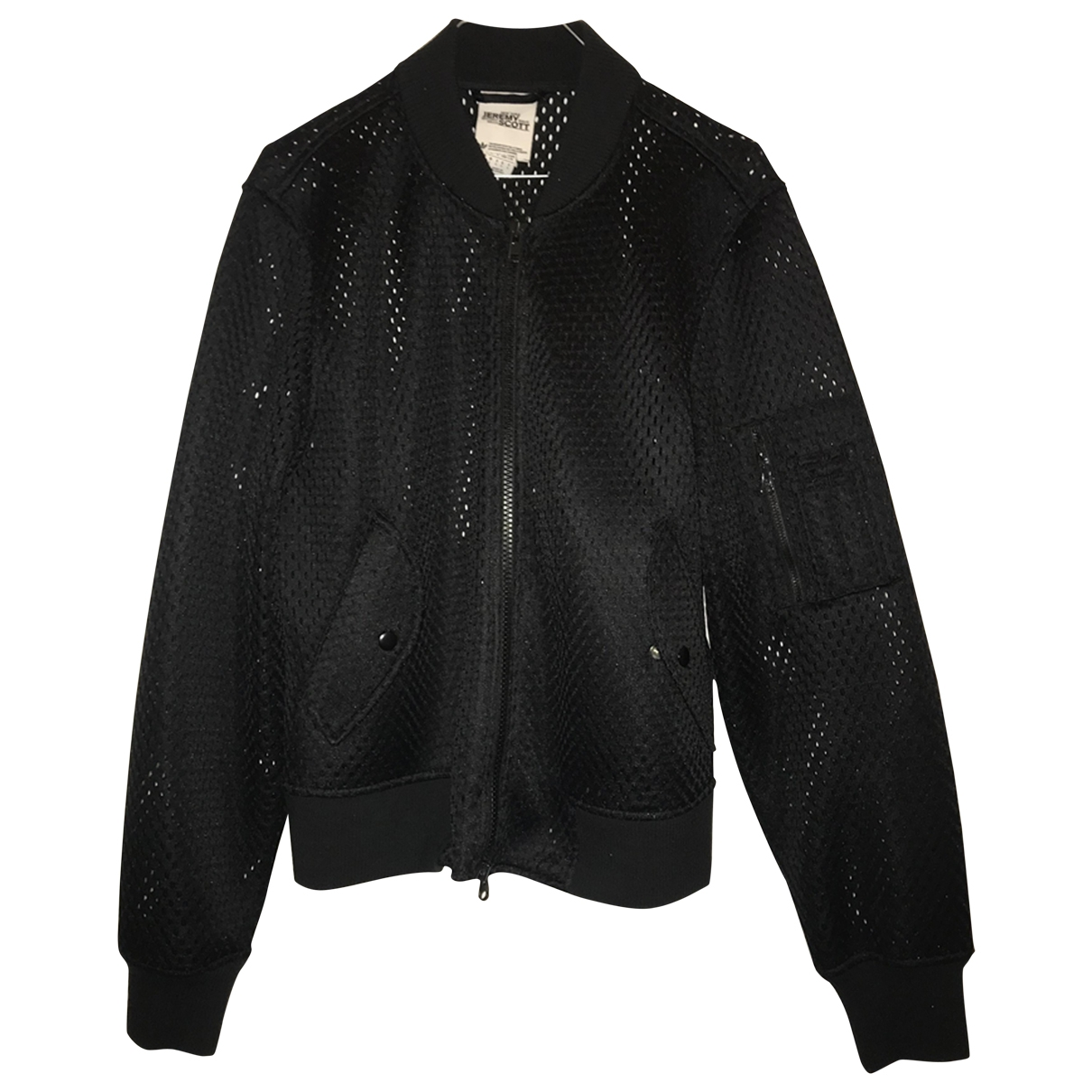 Jeremy Scott Pour Adidas \N Black jacket  for Men L International