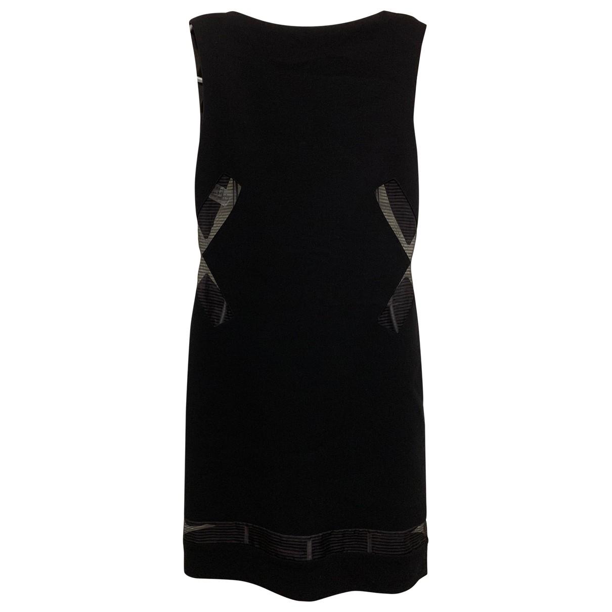 Jean Paul Gaultier \N Kleid in  Schwarz Wolle