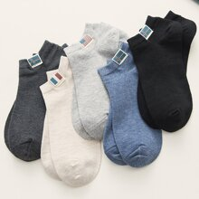 5 Paare Herren Patched Ankle Socks