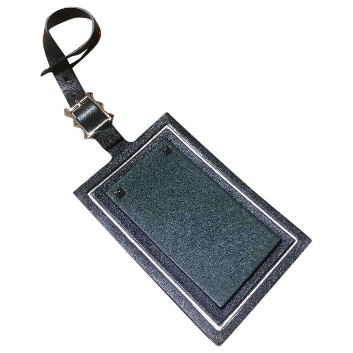 Valentino Garavani \N Khaki Leather Purses, wallet & cases for Women \N