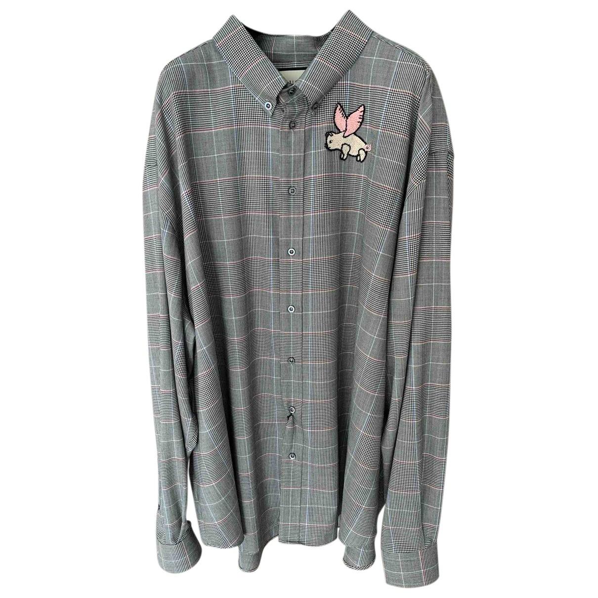 Camisas de Lana Gucci