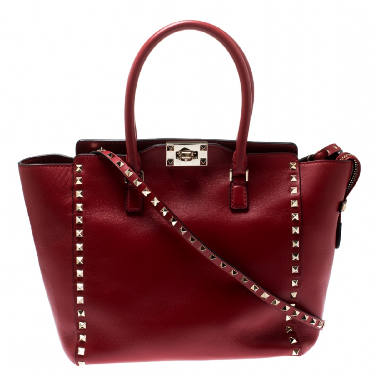 Autre Marque \N Red Leather handbag for Women \N