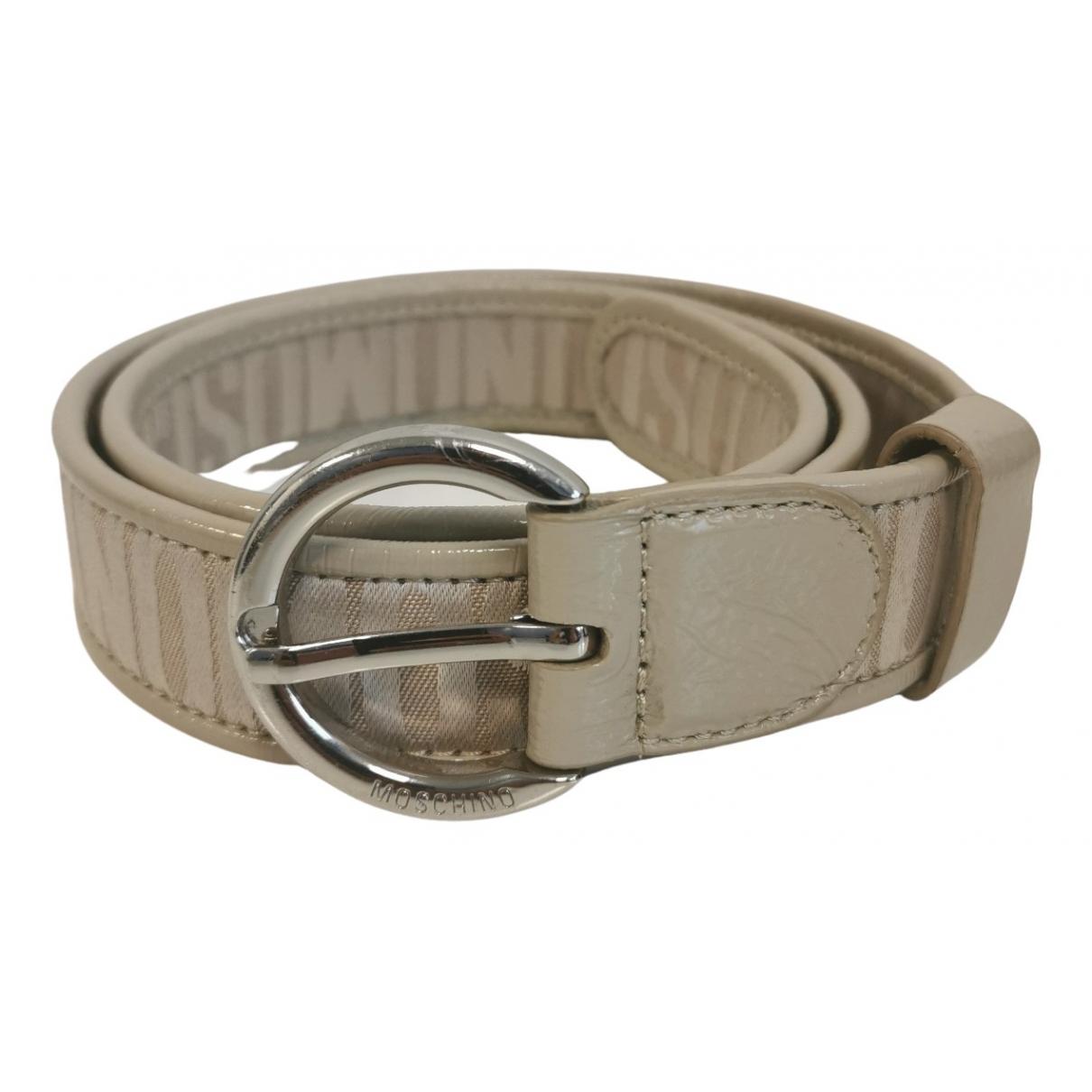 Cinturon de Charol Moschino