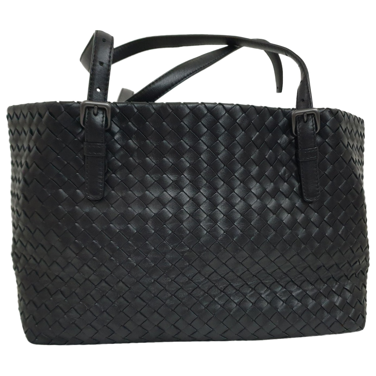 Bottega Veneta Fourre-Tout  Black Leather handbag for Women N