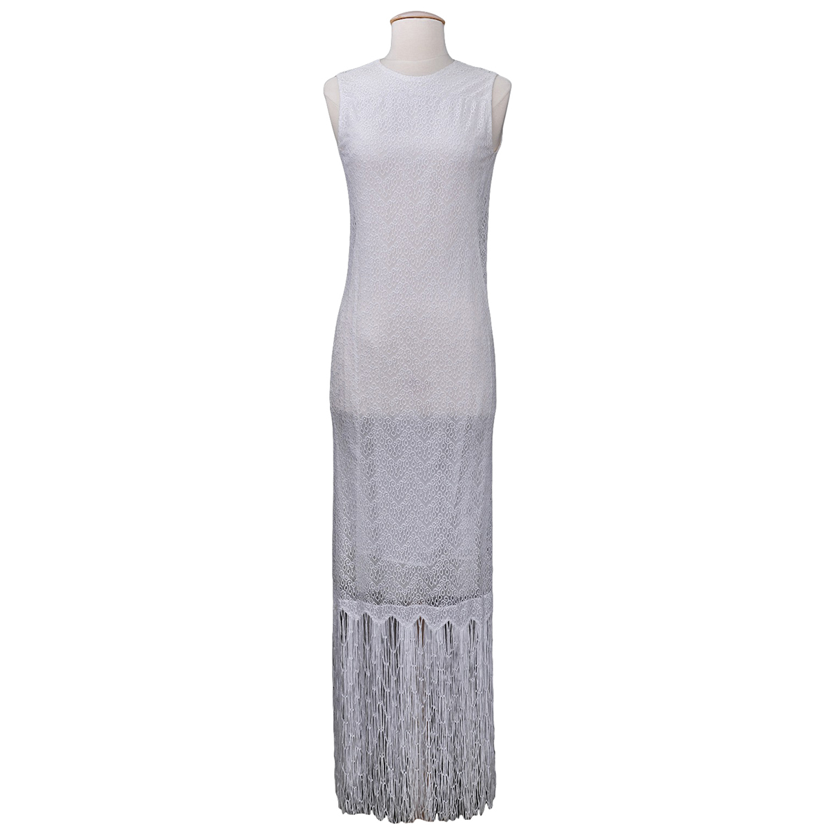 Carven N White Cotton dress for Women 36 FR