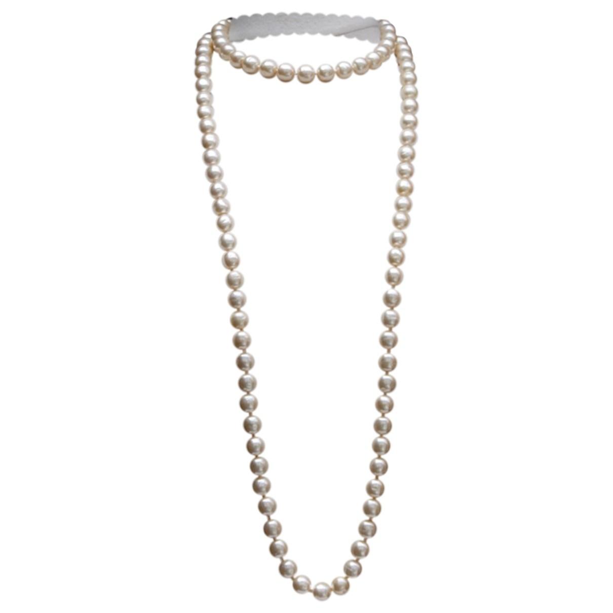 Collar largo Baroque de Perlas Chanel