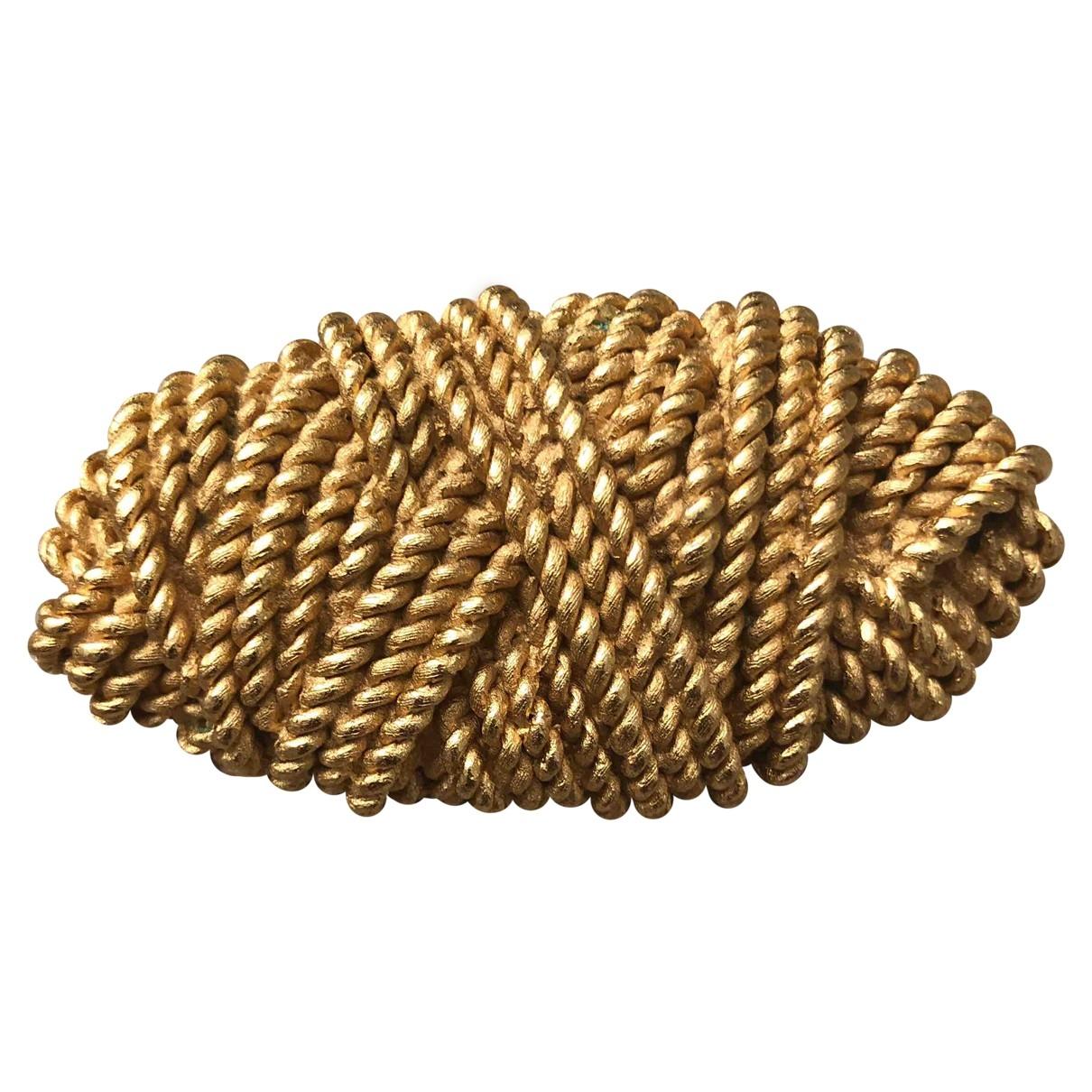 Balenciaga \N Brosche in  Gold Metall
