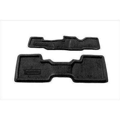 Nifty Catch-All Premium Rear Floor Mat,2nd and 3rd Row (Black) - 657562