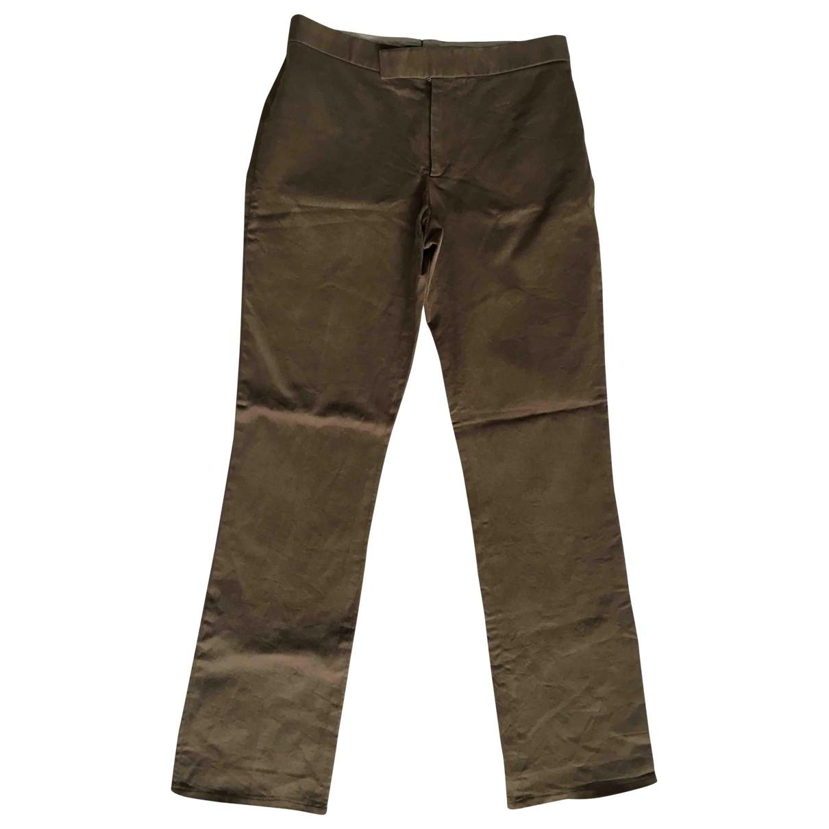 Ralph Lauren - Pantalon   pour femme en coton - marron