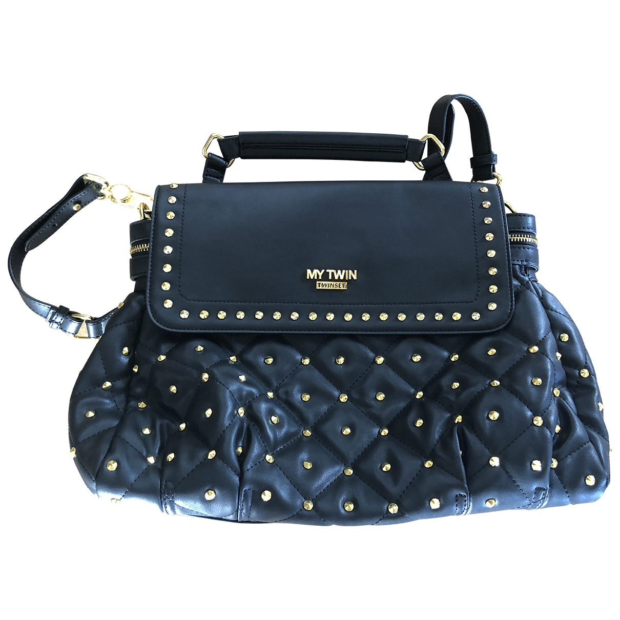Twin Set \N Black handbag for Women \N