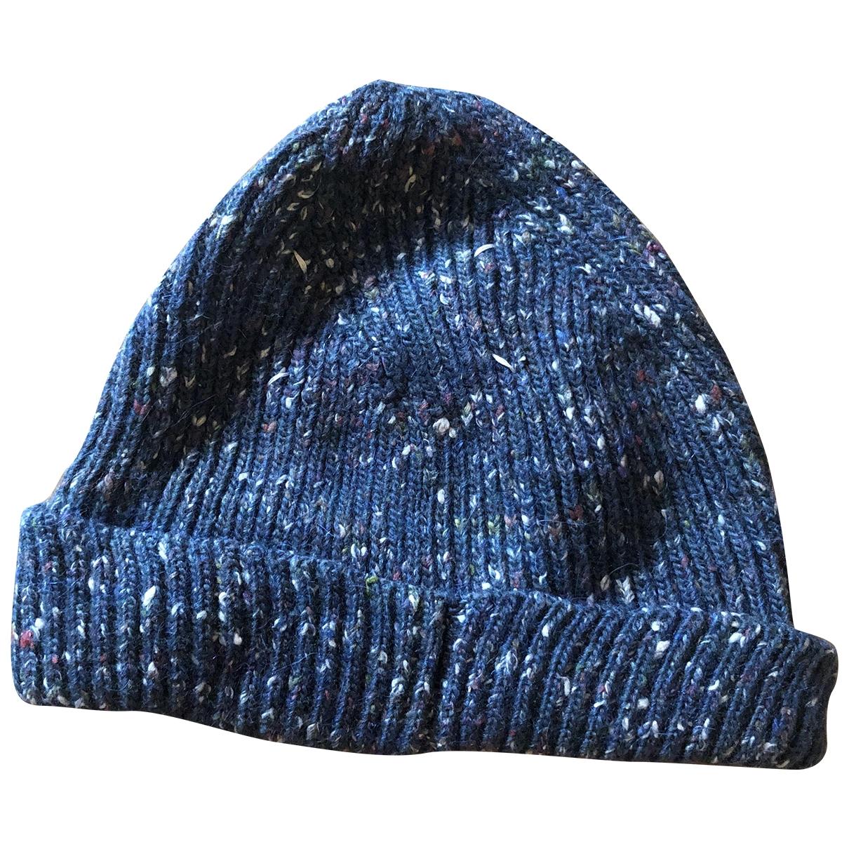 Maison Martin Margiela - Chapeau & Bonnets   pour homme en laine - vert