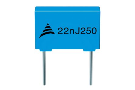 EPCOS 680nF Polyester Capacitor PET 63V dc ±5% (10)