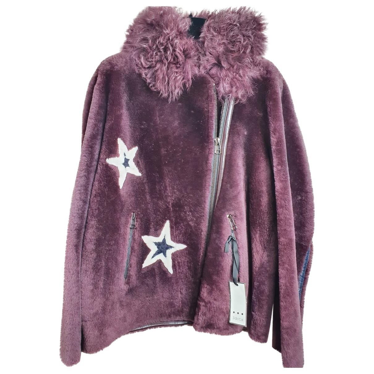 - Veste   pour femme en mouton - violet