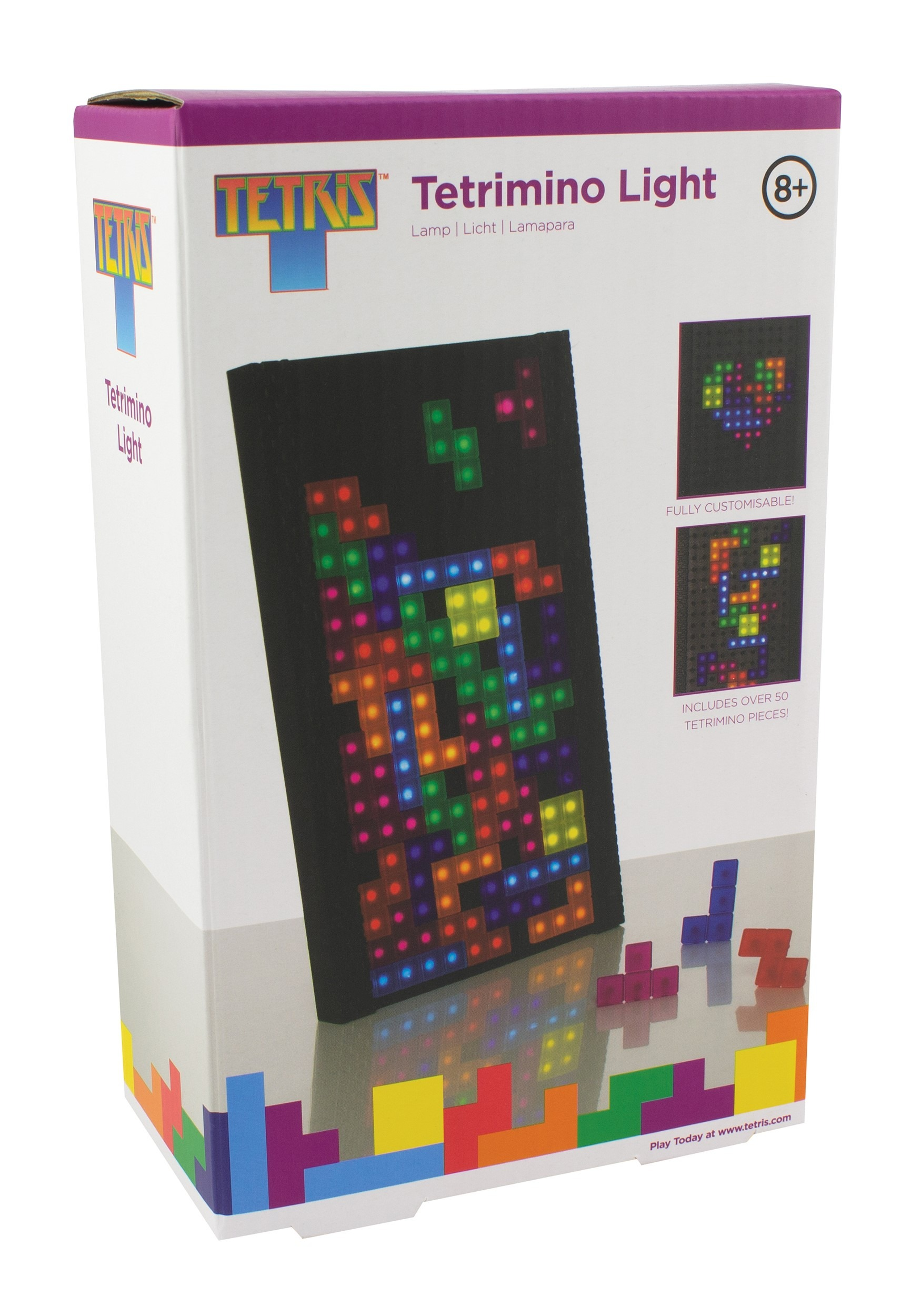 Tetris Teromino Multicolored Light