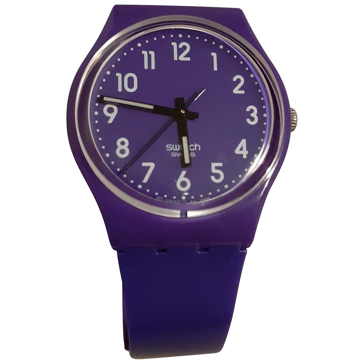 Swatch \N Uhr Lila