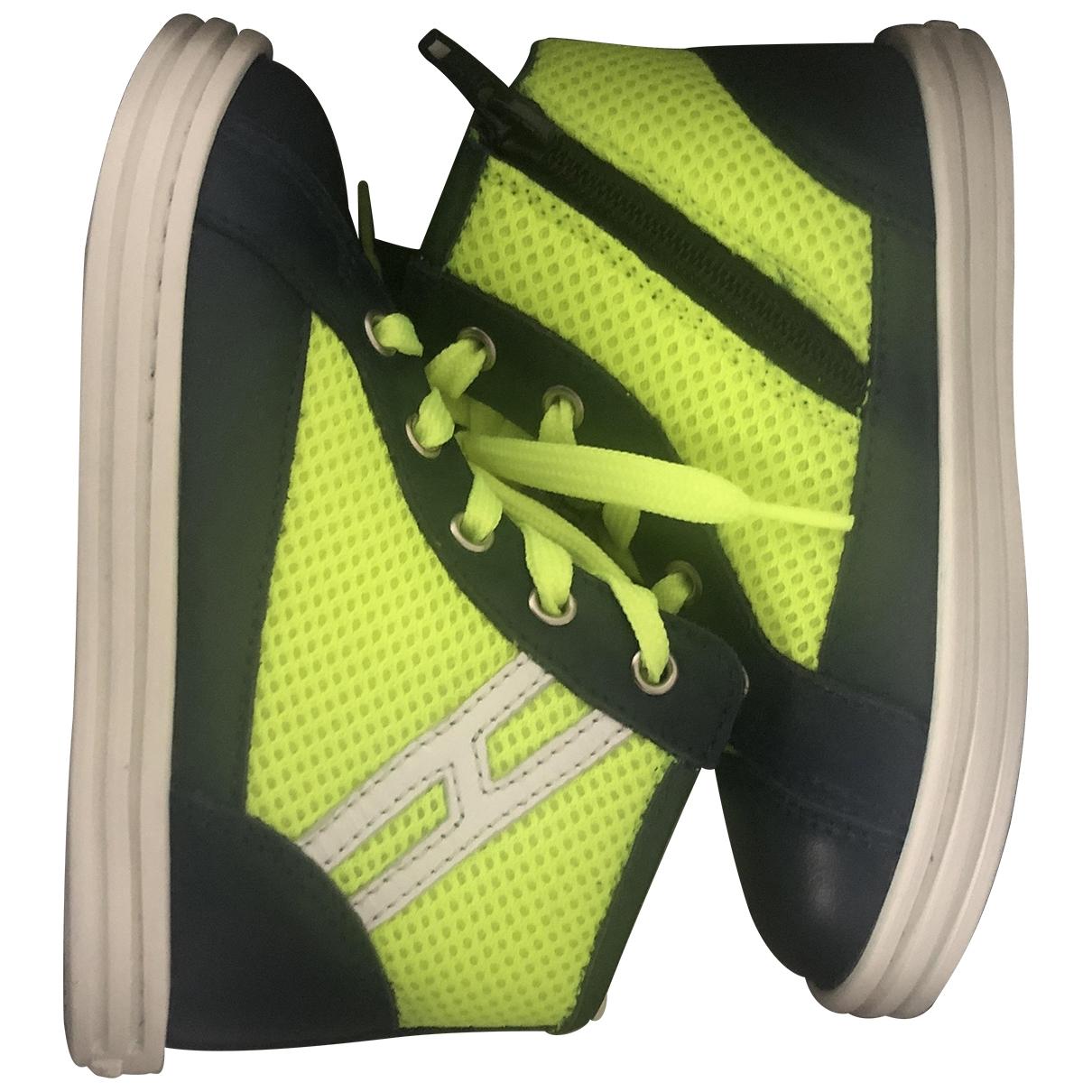 Hogan \N Sneakers in  Marine Leder