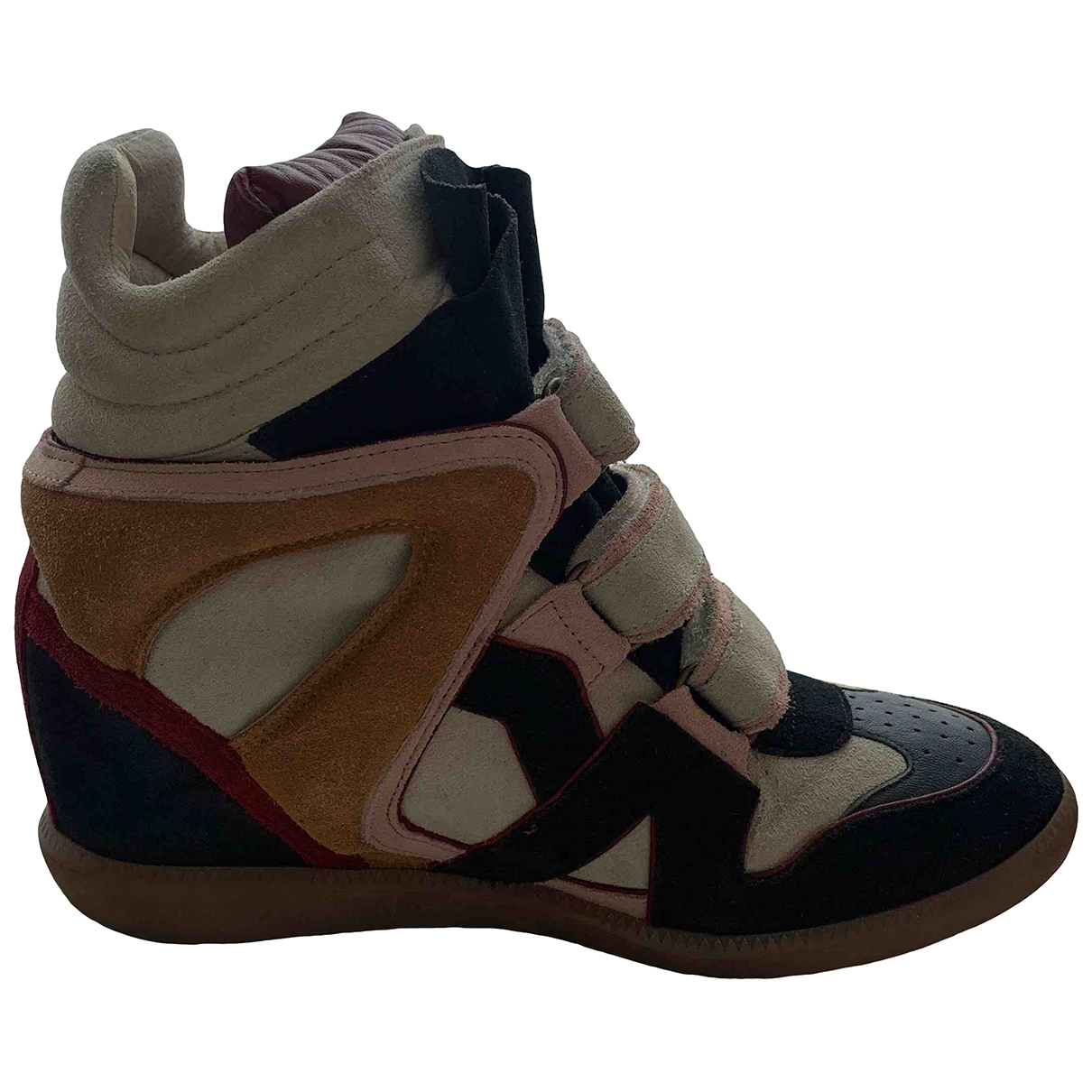 Isabel Marant Beckett Multicolour Leather Trainers for Women 41 EU
