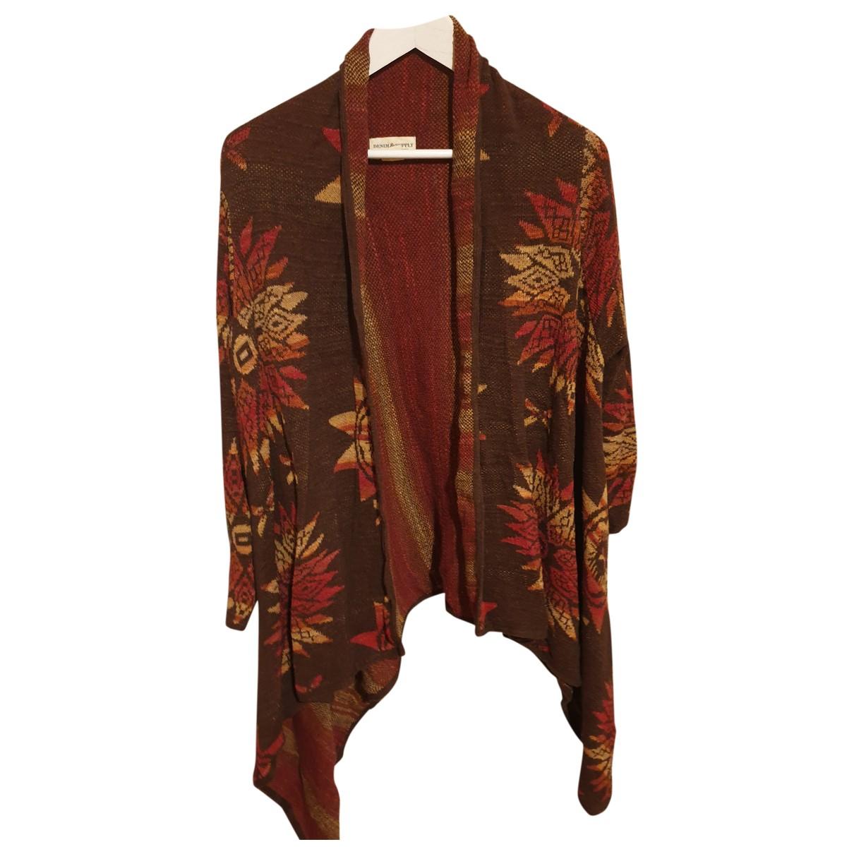 Ralph Lauren Denim & Supply - Pull   pour femme en coton - marron