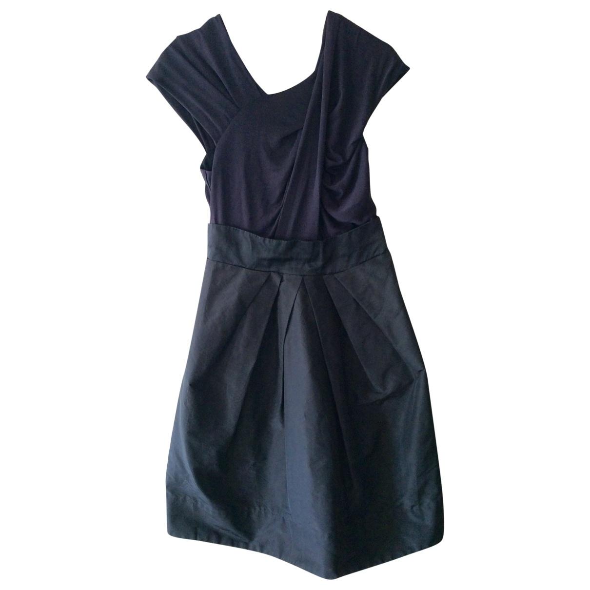 Sport Max - Robe   pour femme en soie - bleu