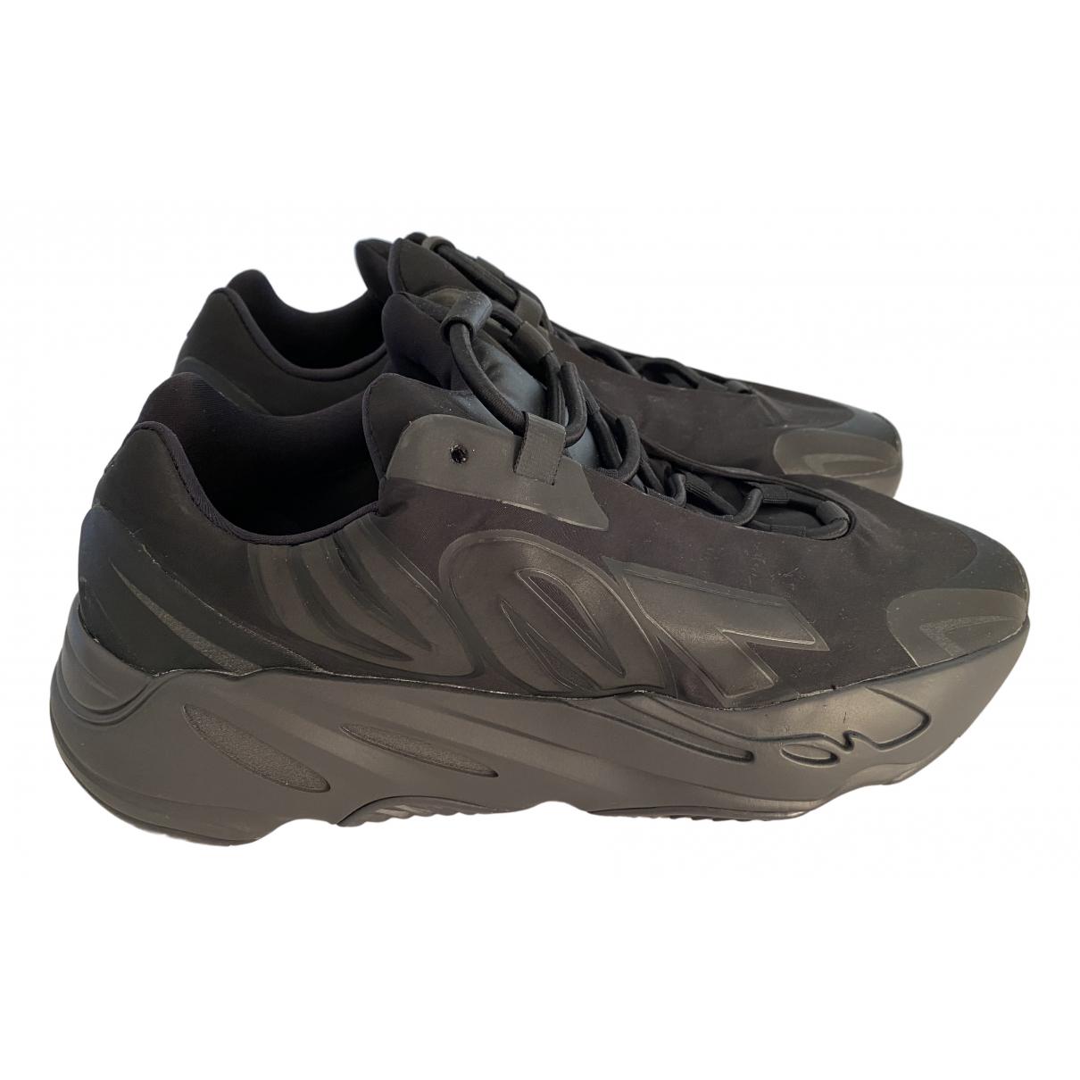 Yeezy X Adidas - Baskets 700 MNVN PHOSPHOR pour homme en caoutchouc - noir