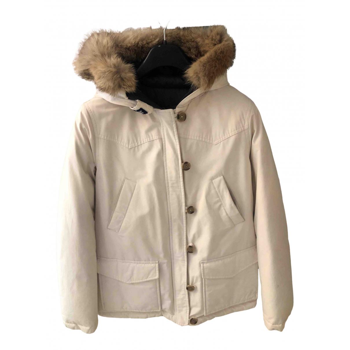 Woolrich N White coat for Women M International