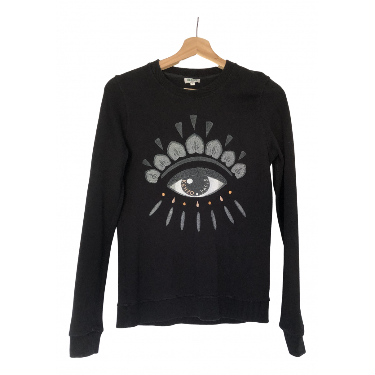 Kenzo \N Black Cotton Knitwear for Women 36 FR